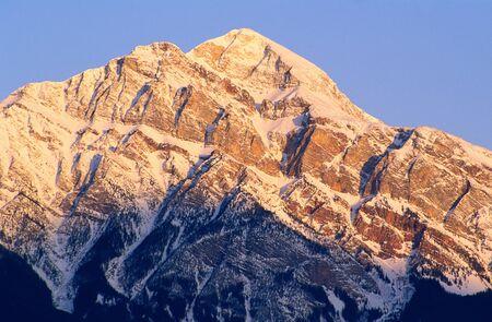 Pyramid Mountain, Jasper National Park, Alberta, Canada
