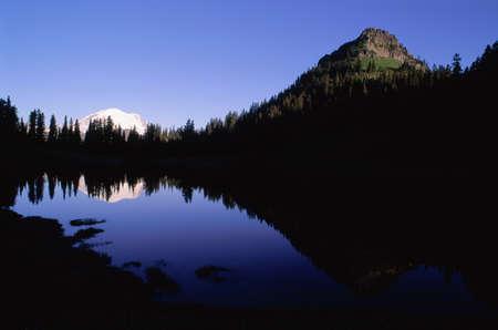 Mount Rainier, Mount Rainier National Park, Washington, USA