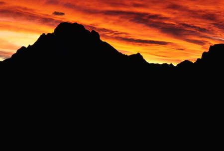 gloria: Sunset over Teton Range, Grand Teton National Park, Wyoming, USA LANG_EVOIMAGES