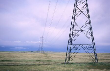 non: Power Lines, Alberta, Canada LANG_EVOIMAGES