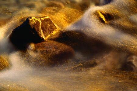 rushed: Creek, Kootenay Plains, Alberta, Canada