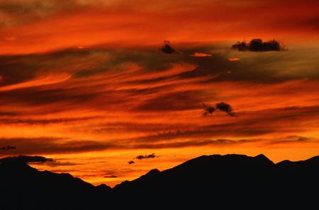 gloria: Sunset, Cardinal Divide, Alberta, Canada LANG_EVOIMAGES