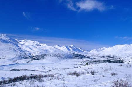 Ogilvie Mountain Range, Yukon, Canada