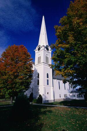 1st Congressional Church, Bennington, Vermont, USA