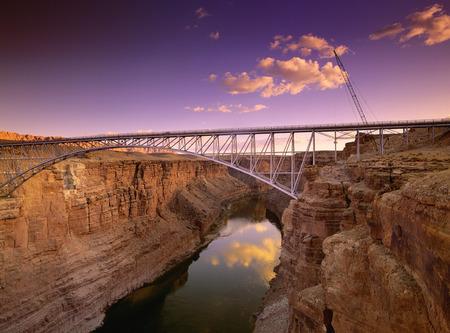 Navajo Bridge, near Marble Canyon, Arizona, USA LANG_EVOIMAGES