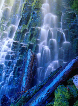 proxy falls: Proxy Falls, Oregon, USA LANG_EVOIMAGES