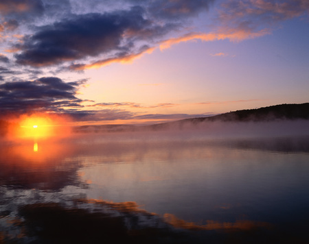 Lake of Two Rivers, Algonquin Provincial Park, Ontario, Canada LANG_EVOIMAGES