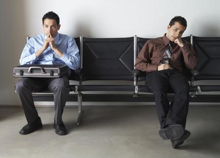 salespeople: Businessmen in Waiting Area