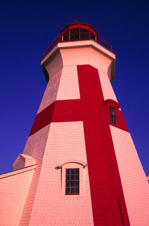 East Quoddy Lighthouse, Campobello Island, New Brunswick, Canada
