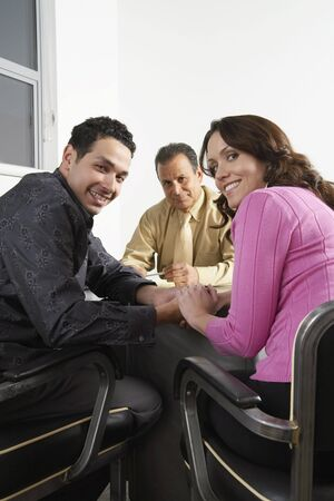 achievment: Couple with Financial Advisor