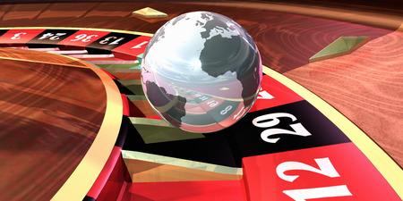 goodluck: Roulette Wheel With Earth Ball