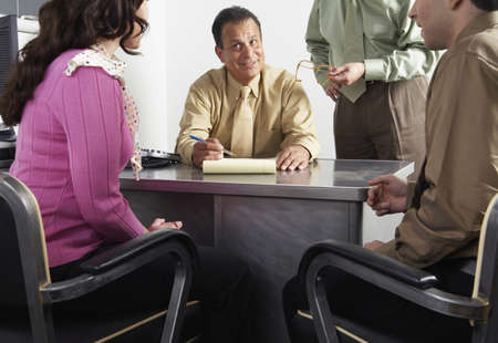 explained: Couple with Financial Advisors