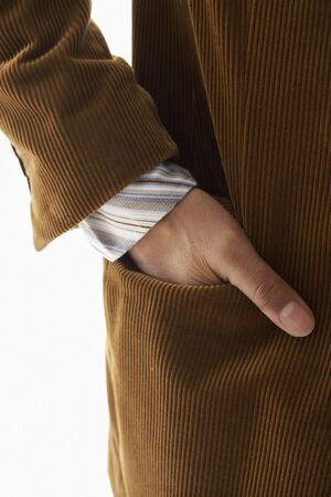 Hand in Jacket Pocket