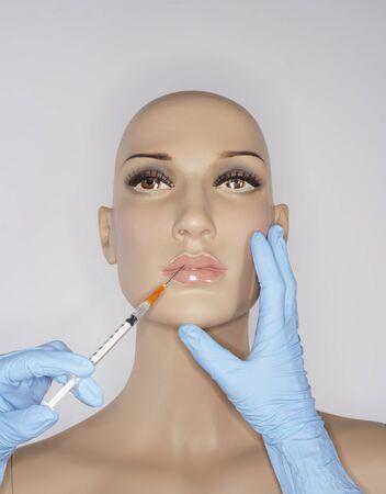 rejuvenated: Mannequin Getting Injection
