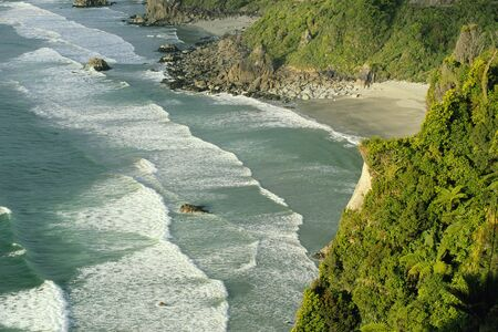 Paparoa National Park, South Island, New Zealand LANG_EVOIMAGES