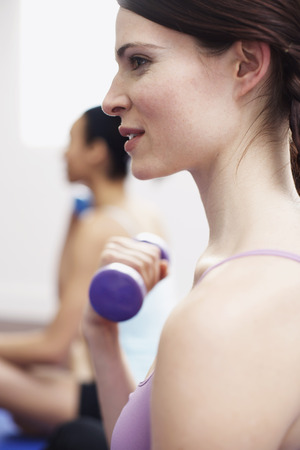athletic wear: Women Exercising