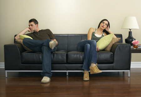 fedup: Couple Sitting on Couch