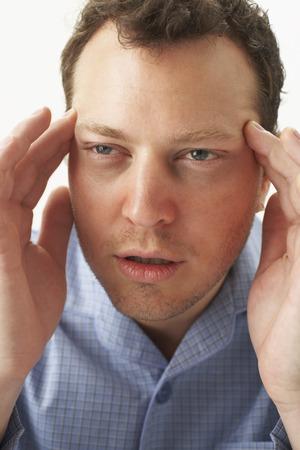 Man with Headache
