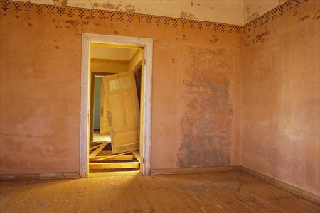 down beat: Room of Abandoned House, Namibia, Africa