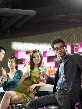 leer: People at Bar