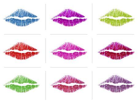 discolorations: Lipsticks Marks LANG_EVOIMAGES