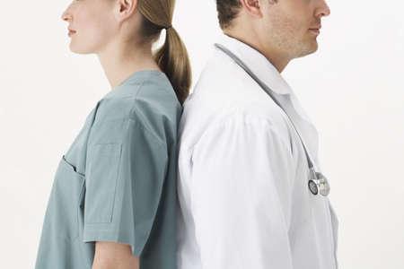 Doctors Back to Back LANG_EVOIMAGES