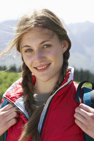 adventuresome: Portrait of Young Woman