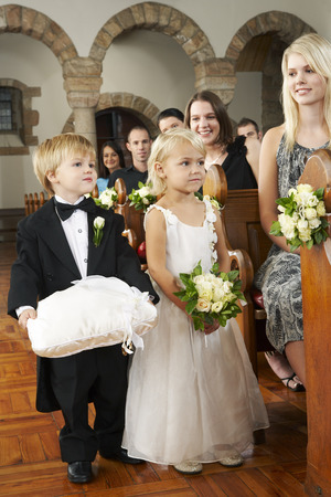 flowergirl: Ringbearer and Flowergirl at Wedding LANG_EVOIMAGES