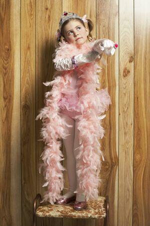 egoistic: Portrait of Girl Dressed As Princess