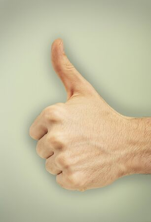achievment: Persons Hand Making Thumbs-Up Sign LANG_EVOIMAGES