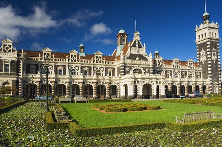 Railway Station, Dunedin, Otago, South Island, New Zealand
