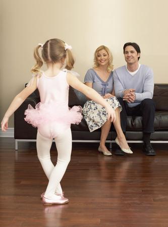 Daughter Dancing For Parents LANG_EVOIMAGES