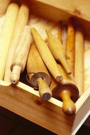 kitchen cabinets: Baking Utensils in Drawer