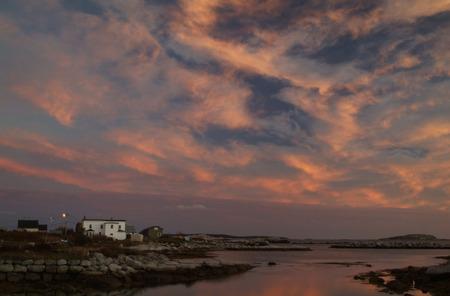 Harbour at Sunset, Nova Scotia, Canada