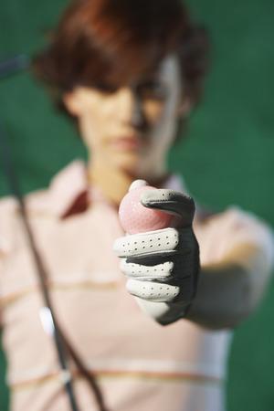 athletic wear: Portrait of Golfer