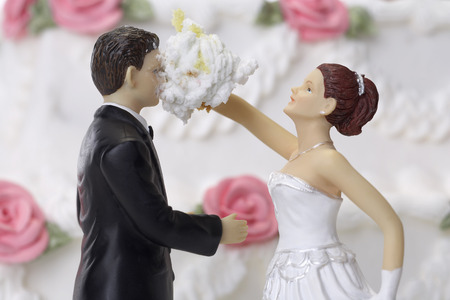topper: Bride and Groom Cake Topper