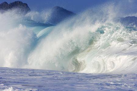 Waves, North Shore, Oahu, Hawaii