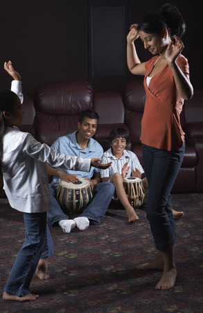 drumming: Family Dancing and Drumming