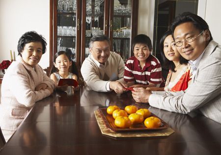 goodluck: Family Portrait in Dining Room