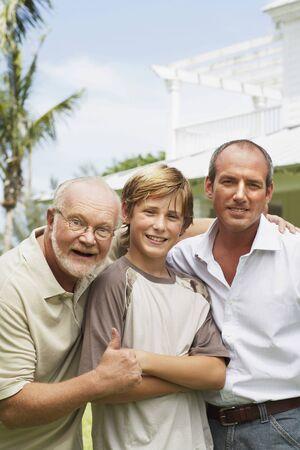 three generation: Three Generation Family Portrait LANG_EVOIMAGES