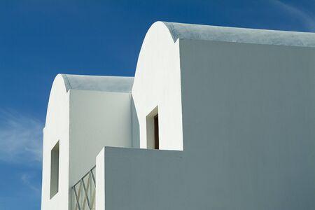 window view: Exterior of House, Oia, Santorini, Cyclades Islands, Greece