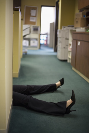 Womans Legs in Office