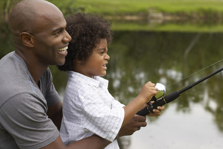 connecting rod: Father and Son Fishing LANG_EVOIMAGES