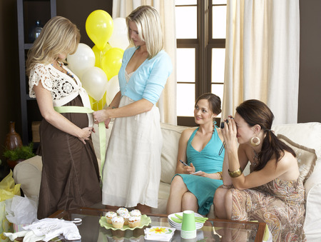 Women at Baby Shower LANG_EVOIMAGES