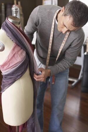 tailored: Man Designing Fashion