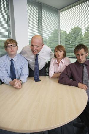 self conceit: Portrait of Business Team