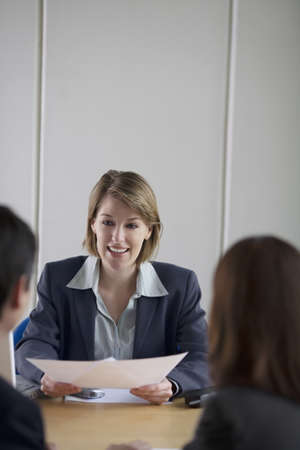 explained: Businesspeople Having Meeting