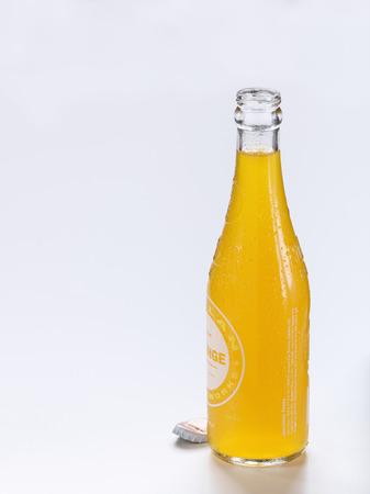 drop water: Orange Soda