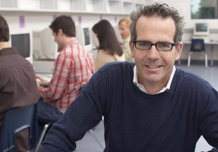 Portrait of Computer Class Teacher LANG_EVOIMAGES