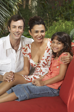 family sofa: Portrait of Family